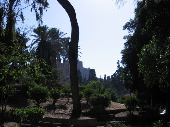 Ancient city of Rhodes