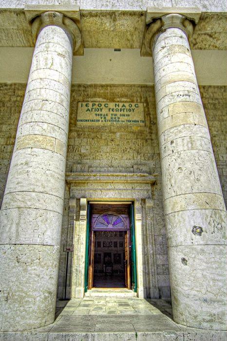 Entrance of Agios Georgios, Old Fortress