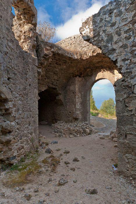 Ali Pasha\'s fortress, detail