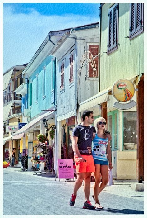 Colorful facades - Nidri