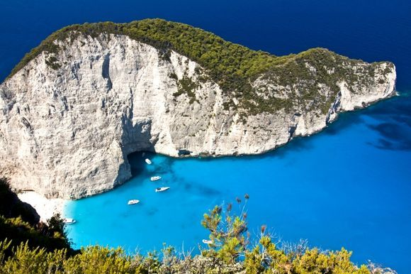 If you miss the Navagio blue...