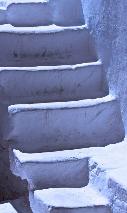 Tungsten stairs