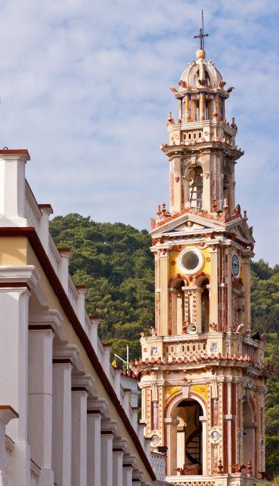 The Monastery ...