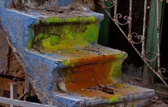 Rotten stairs...
