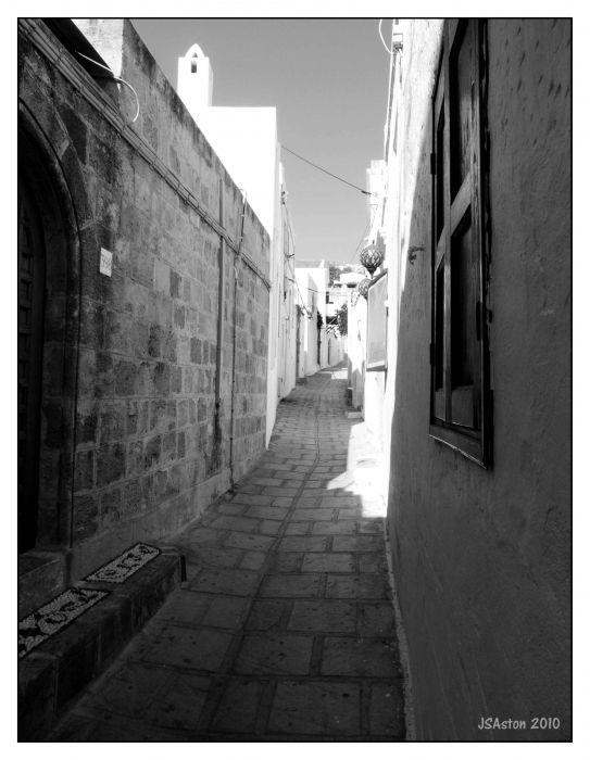 Lindos Back Street...
