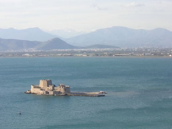HArbour of Nafplion with Bourtzi