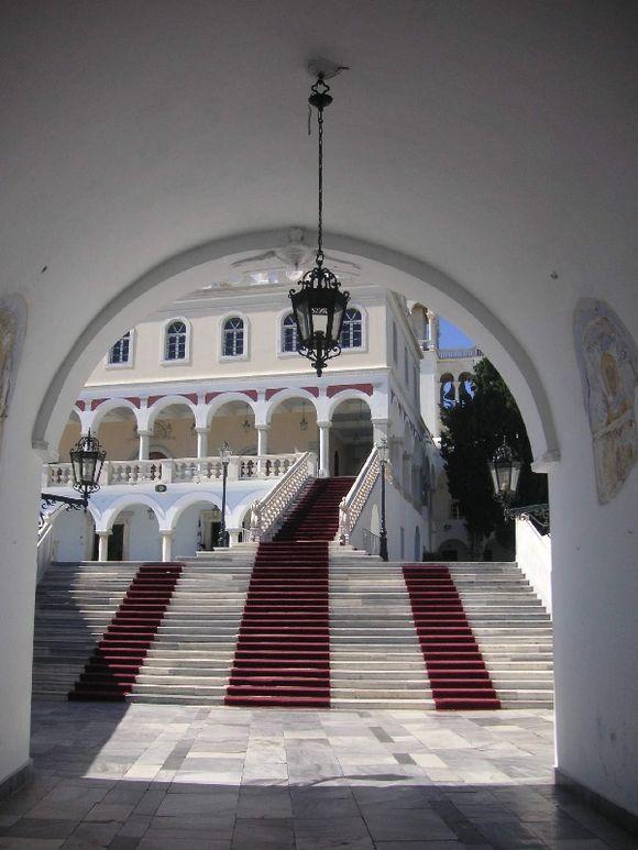 The church of the Panayia of Tinos