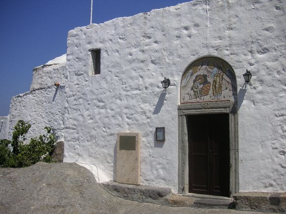 Entrance to the Convent of Apocalypse