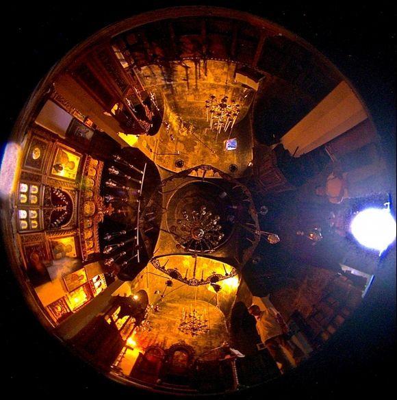 Mega Spileo: the dome