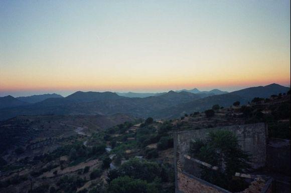 before sunrise, Anogia, Crete