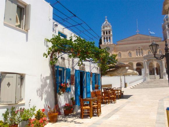 Church and kafeneo
