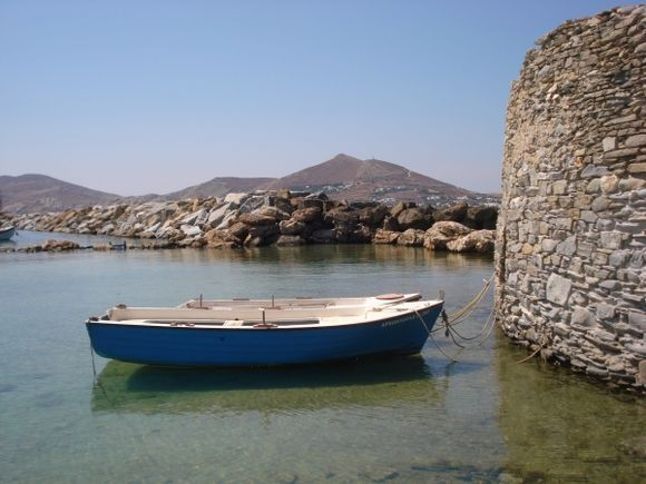 boats in front of fortress