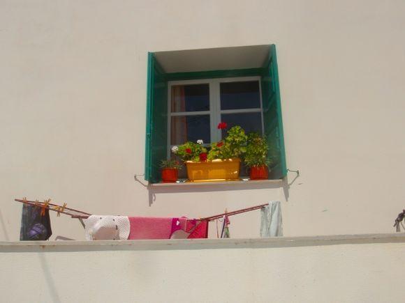 balkony in Katapola