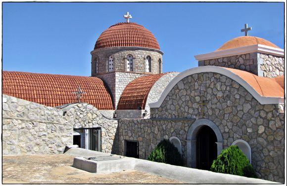 24-09-2013 Kalymnos: Monastery Agios Savvas