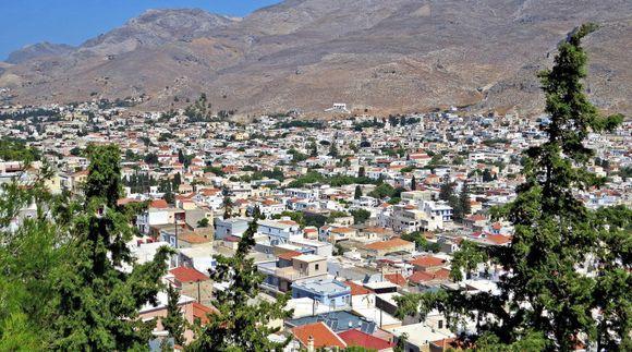 29-08-2020 Kalymnos: View on Pothia