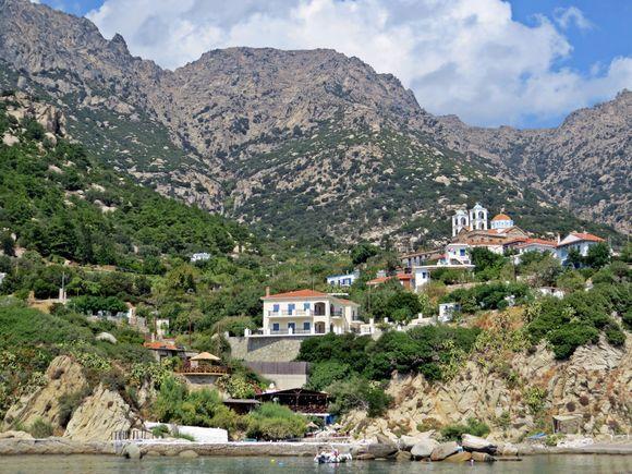 18-09-2020 Ikaria: View on Manganites, a beautiful small village on Ikaria