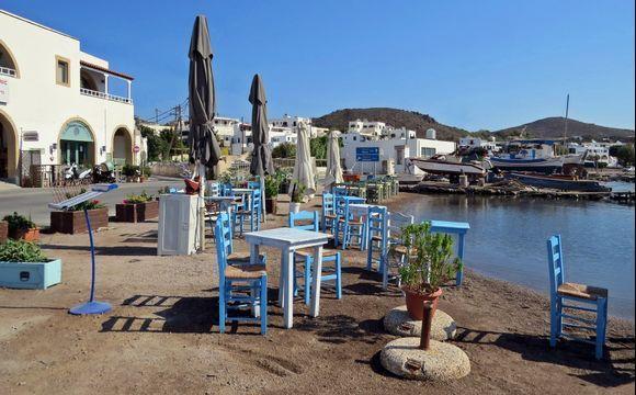 31-08-2020 Patmos: Skala ......Restaurant at the harbour