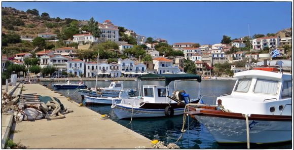 13-09-2020 Ikaria: Evdilos with harbour