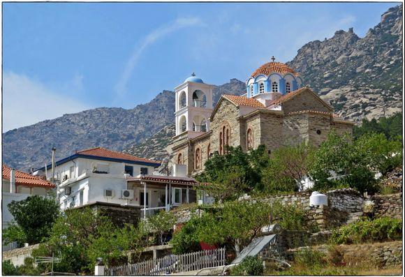 16-09-2020 Ikaria: Manganites  ......Church in the landscape Manganites