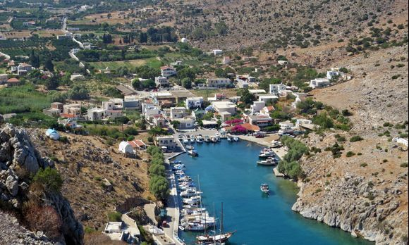 28-08-2020 Kalymnos: Vathy ......The small harbour of Vathy (Rina)