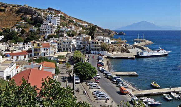 21-09-2019 Ikaria: Agios Kirikos .......View on Agios Kirikos