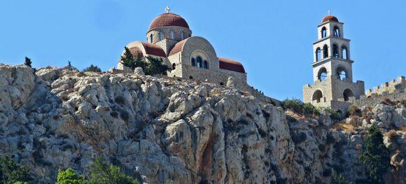 29-09-2019 Kalymnos:  Monastery Agios Savvas