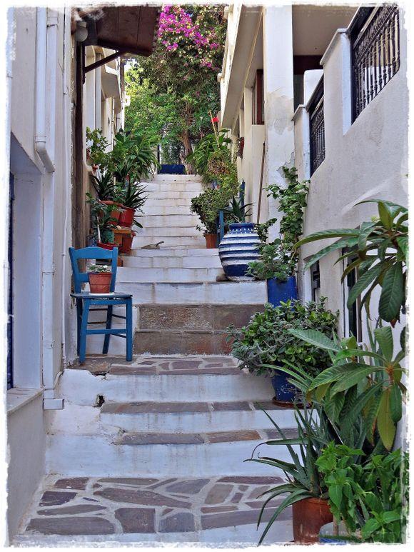 20-09-2019 Ikaria: Agios Kirikos ......Upstairs between flowerspots