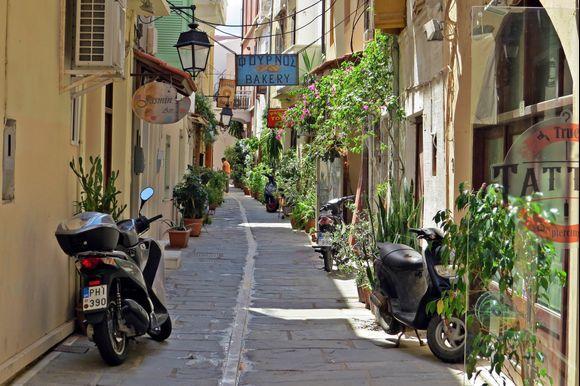 09-09-2021 Rethymno: Streetview in Rethymno