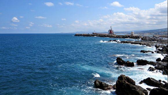 09-09-2021 Rethymno: Sea view near Rethymno