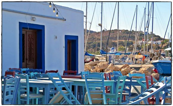 06-09-2020 Lipsi: A busy view from a lonely terras