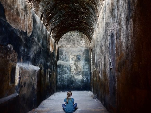 Abandoned Church beneath Palamidi Fortress