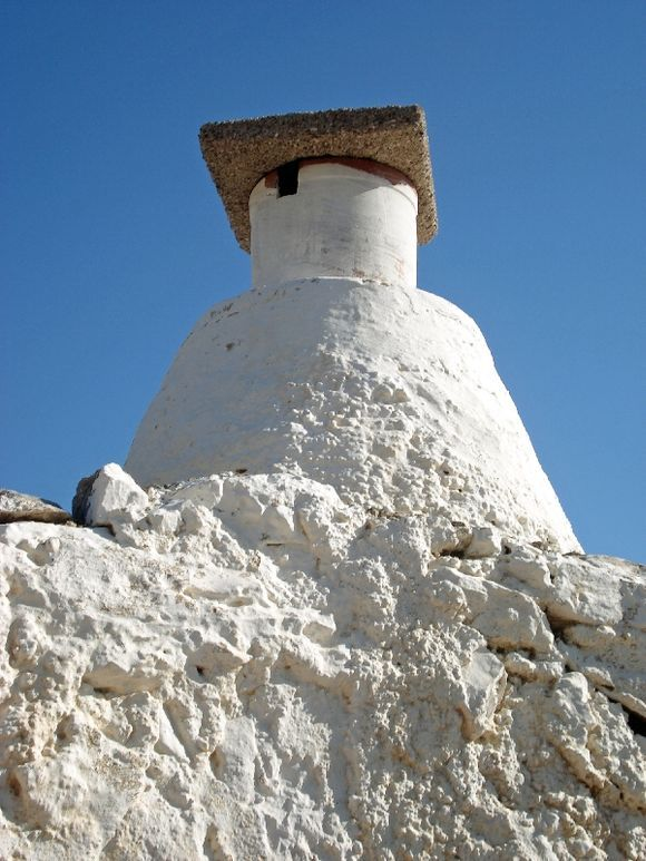 unusual chimney on antikythira