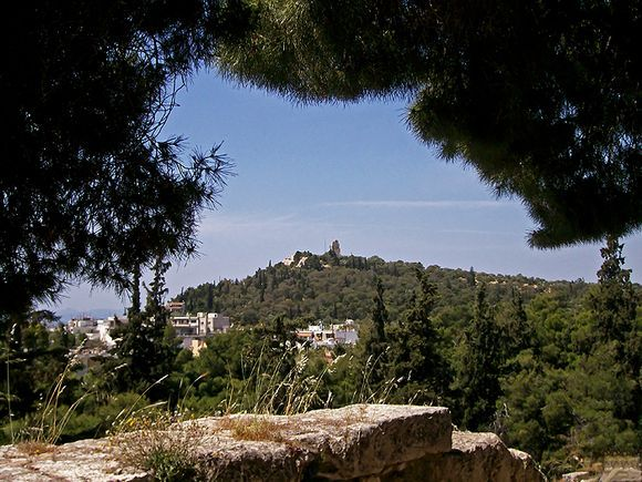 view from Theatre of Herodes Atticus