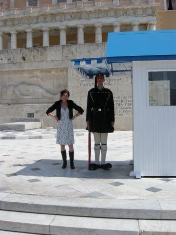 After changing of the Guards Athens- so cool it was!!!