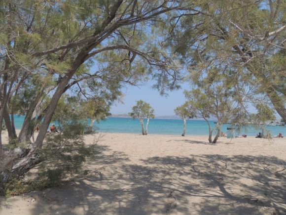 Pollonia beach, MilosPollonia beach,