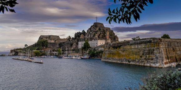 Corfu Fortess