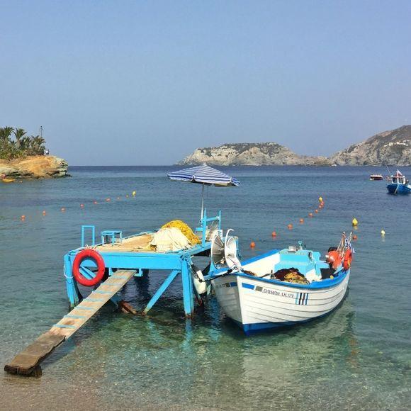 Calm afternoon in Agia Pelagia