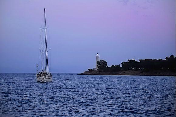 Lighthouse in Gythio