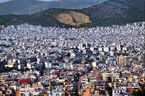Acropolis: From here, you have a stunning view over Athens!