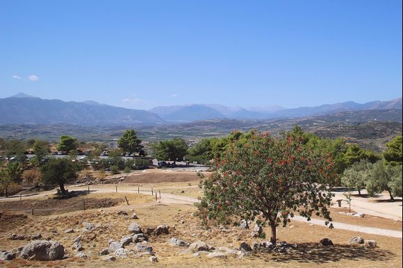 Mycenae - a view into the distance