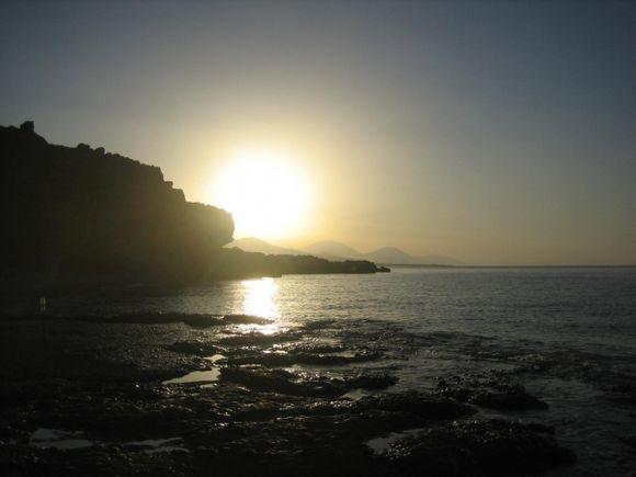 Hora Sfakion, Vritomartis. Good morning sunshine!