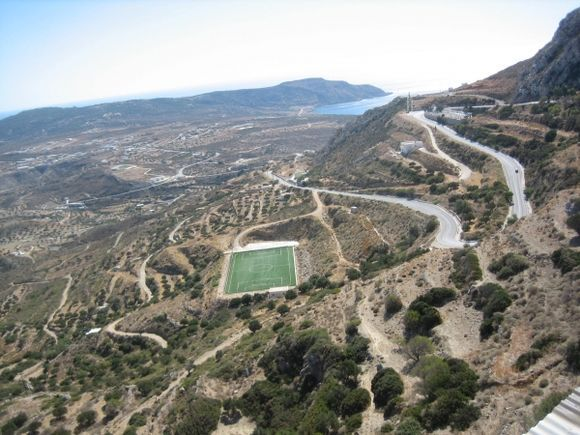 Karpathos, Menetes You can see, the football is evergreen sport!