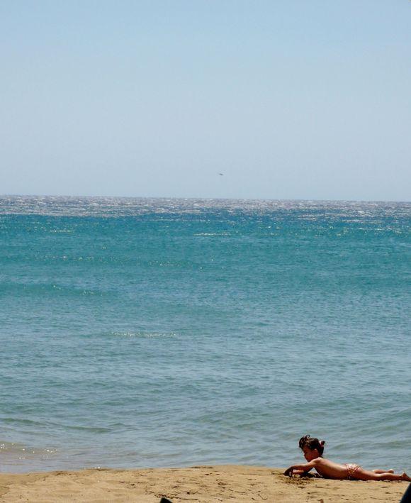 Sain Nikolaos beach in Anafi island