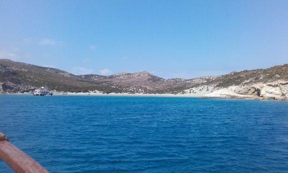 Livadi Beach, despotiko Island!!! empty!