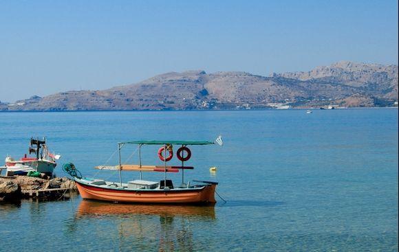 The Orange Boat