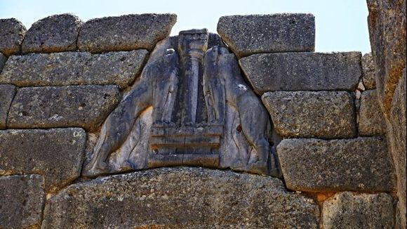 In Citadel of Mycenae