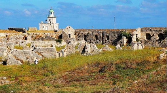 Lighthouse in Ag. Mavra