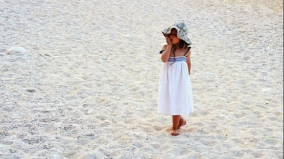 Paradise on Navagio - a little angel
