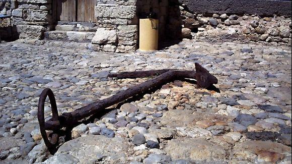 Heraklion - old anchor