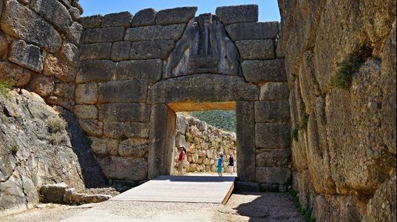 The citadel of Mycenae